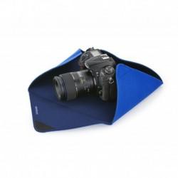 Protection APN en tissu-mousse bleu dimensions 38x38 cm