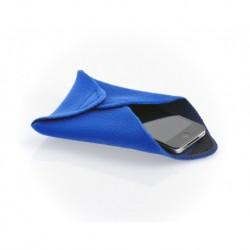 Protection APN Novoflex en tissu-mousse bleu 20x20 cm