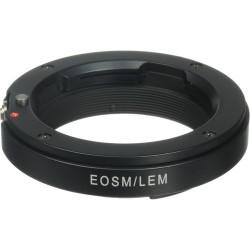 Bague d'adaptation objectif Leica M vers boitier EOS M