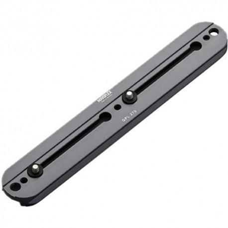 Platine Q 270 mm avec vis 1/4'' et 3/8'