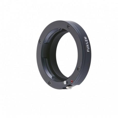 Bague d'adaptation pour optiques Leica M vers boitier Fuji X