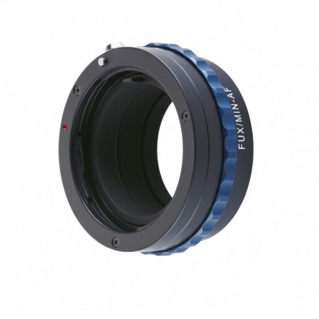 Bague d'adaptation objectifs Sony Alpha et Minolta AF vers boitier Fuji X