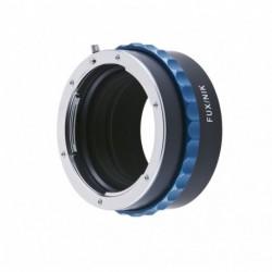 Bague d'adaptation mécanique pour optiques Nikon F vers boitier Fuji X