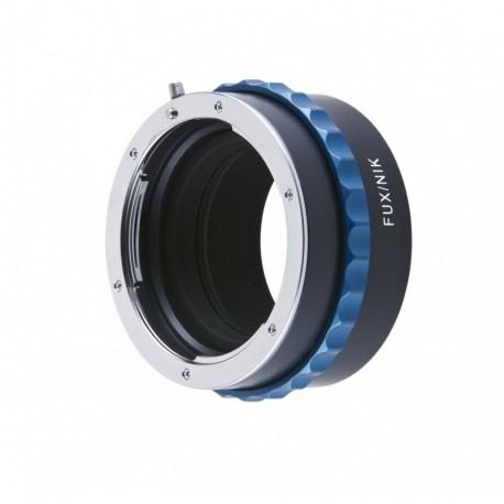 Bague d'adaptation pour optiques Nikon F vers boitier Fuji X