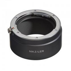 Bague adaptatrice optique Leica R boîtier Nikon Z